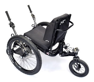 MT EVO - Mountain Trike wheelchair - Greenvolt Palencia