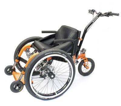 Mountain Trike Push - silla montana - Greenvolt