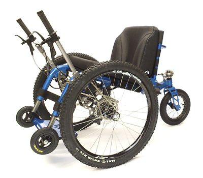 Mountain Trike - silla mountain azul - Greenvolt