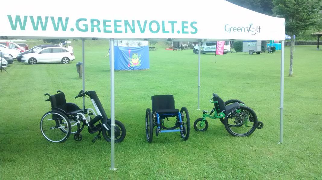 greenvolt Mountain Trike E-PILOT sella