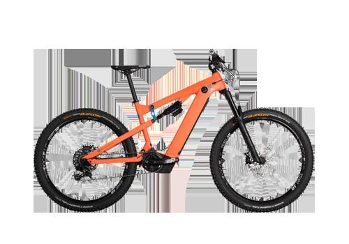 AllMountain 5_9 Hybrid pumpkin - bici electrica NOX Spain